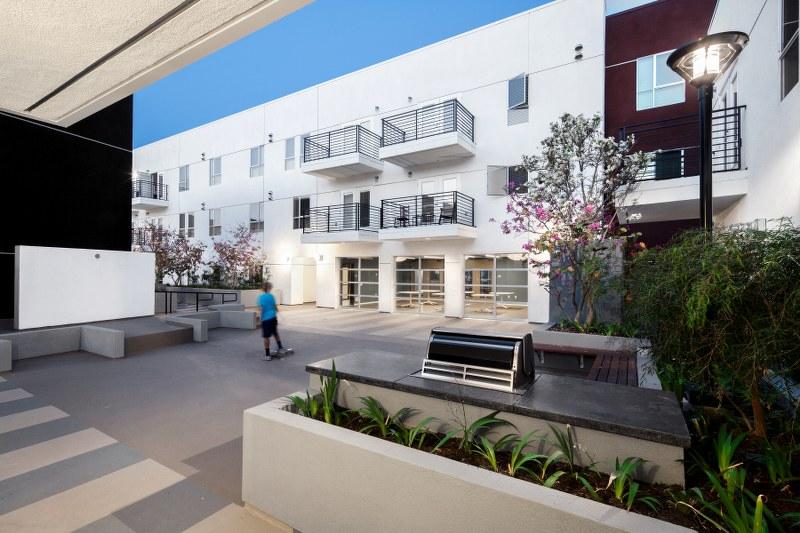 Pacific Avenue Arts Colony Exterior View1